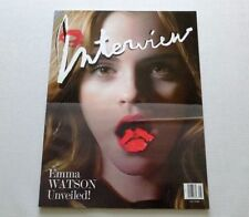 Interview Magazine May 2009 Emma Watson Stephanie Seymour
