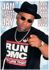 "RUN DMC    POSTER   ""JAM MASTER JAY"""