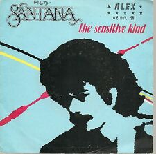 "45 TOURS / 7"" SINGLE--SANTANA--THE SENSITIVE KIND / CHANGES--1981"