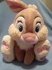 "Disney Store Authentic Bambi Miss Bunny Plush 15"" Easter Rabbit Gift  Thumper"
