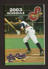 2003 Syracuse Sky Chiefs Schedule--Saranac Light
