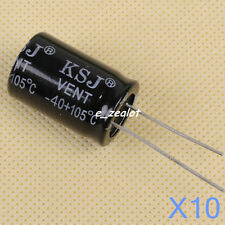 10pcs NEW 3300uF 25V 105C Radial Electrolytic Capacitor 16mm x 25mm 16mm*25mm