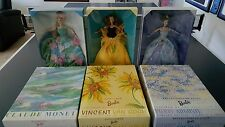 Renoir Reflections of Light Water Lily Monet Sunflower Van Gogh Barbie Doll Lot