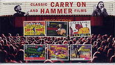 GB 2008 POSTERS for CARRY ON and HAMMER HORROR FILMS PRESENTATION PACK No.414