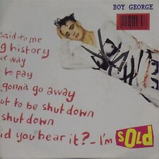 "BOY GEORGE 'SOLD' UK PICTURE SLEEVE 7"" SINGLE #2"