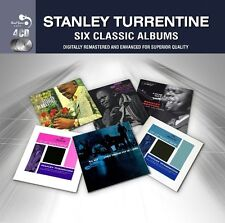 Stanley Turrentine SIX (6) CLASSIC ALBUMS Look Out UP AT MINTON'S New 4 CD