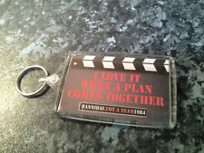 The A Team (Quote) Jumbo Keyring. I Love It When A Plan Comes Together. NEW