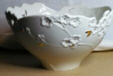 Lenox Cherry Blossom flowers gold accents medium bowl