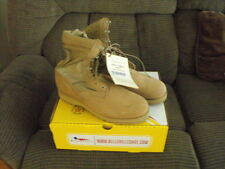 NEW US Military BELLEVILLE Army Combat Boots Tan  SZ 13 REG NIB  HOT WEATHER