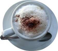 1 Par De Café Espresso Cappuccino Stickers-Catering furgonetas, etc..