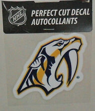 NASHVILLE PREDATORS 4 X 4  DECAL OFFICIALLY LICENSED PRODUCT