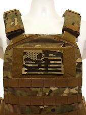 "LARGE 5x3"" Infrared reflective Multicam IR US Flag Patch Special Forces SF patch"