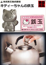 Japanese Cast Iron Food Supplement in Hello Kitty Figurine Statue Ornament Decor