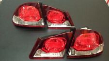 Honda Civic FD1 FD2 Tail Lamps Lights Late Model 4 Piece Reflector 1 Pair 06-11