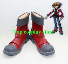 Yu-Gi-Oh! GX  Yuki Judai Jaden Yuki cos Cosplay Shoes Boots shoe boot