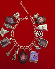 Hocus Pocus Movie Charm Bracelet - Halloween, Witch and Wicca Themed
