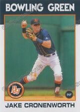 2016 Bowling Green Hot Rods Jake Cronenworth RC Rookie Rays