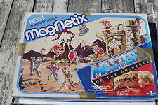 Vintage Motu Masters of the Universe Magnetix Magnet Game Play Set - NICE!!!