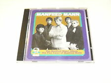 """MANFRED MANN """"THE MANFRED MANN ALBUM/FIVE FACES OF"""" CD EMI 1996"""