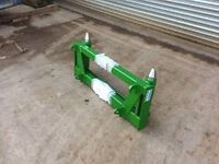 John Deere/ Euro 8 to lift Matbro Pin&Cone Headstock, Adaptor, Interchanger,