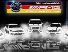 1pcs Aluminum Car Auto emblem badge sticker Fit for Mercedes Benz C E CLA S AMG