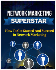 Network Marketing Superstar ebook pdf with master resell rights Free Shipping
