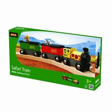 Brio Safari Train 3 PACK Wooden Railway 333722