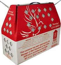 6pk * Horizon Shipping Boxes for Live Birds-Chicken, Poultry, Pidgeon