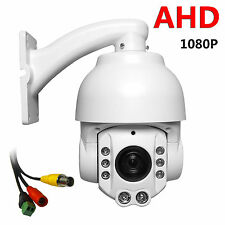 "CCTV Security 4"" Speed Dome 2.0MP AHD PTZ Camera 1080P 20X ZOOM Auto Focus IP66"