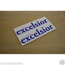 HOBBY 'Excelsior' Caravan Name Stickers Decals Graphics - (SMALL) - PAIR
