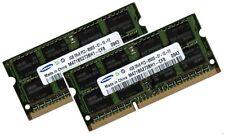 2x 4GB 8GB DDR3 1333 Mhz RAM Speicher Samsung RF540 PC3-10600S
