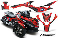 AMR Racing Can Am BRP RS Spyder Graphic Kit Wrap Roadster Sticker Decal TBOMB R