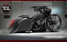 Victory Cross Country Stretched Saddlebags and Fender Kit TOL