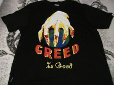 Greed is Good shirt Corner$torehero RARE! Excellent condition Size 2XL