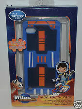 DISNEY MILES FROM TOMMOROWLAND IPOD TOUCH CASE BLUE GLOWS IN DARK 5TH GENERATION