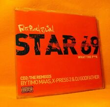 MAXI Single CD Fatboy Slim Star 69 (What The F**k) 3TR 2001 CD2 House