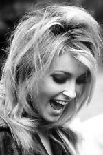 SHARON TATE 24X36 POSTER PRINT LAUGHING IN PROFILE