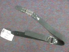 Bitchstraps-Double Chain Stap-Guitar Strap-Leather-Black-Special Price!