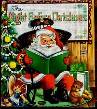 The Night Before Christmas by Clement Moore ~ 1950's Whitman Tell-a-Tale Book