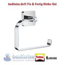 SMEDBO ICE WC-Papierhalter Rollenhalter + Kleber OK341 Klebe-Set ohne Bohren