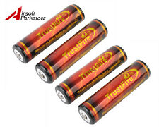 4pcs TrustFire 18650 3.7V 3000mAh Protected PCB Rechargeable Li-ion Battery