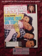 PEOPLE May 18 1998 JERRY SEINFELD CARLY SIMON STANLEY DONEN JACK LEMMON