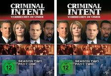 7 DVDs * CRIMINAL INTENT - SEASON / STAFFEL 2 ( 2.1 + 2.2 ) IM SET # NEU OVP +