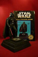 1996 STAR WARS DARTH VADER LIGHT UP ACTION FIGURE MOTION BANK THINKWAY TOYS