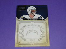 2011 National Treasures PHILIP RIVERS #124 Century Silver/25 San Diego CHARGERS