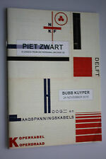 Piet Zwart -  A choice from his personal Archive (5) - Bubb Kuyper 24 Nov. 2015