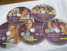 GOSSIP GIRL COMPLETE SERIES 3 ON 5 DISCS- DISC ONLY  (DS) {DVD}