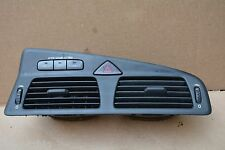 VOLVO S60 R S60R CENTER DASH PANEL OUTLET AIR VENT GRILLE SWITCHES EMERGENCY
