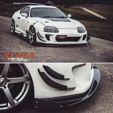 Toyota Supra Ridox Style Front Splitter Lip + End Plates for Performance, Racing
