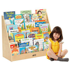 Day Care Library Book Display 5 Shelf Pre School Kids Play Room Organizer Office